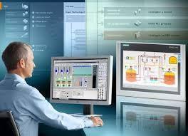 Käyttöliittymä Siemens WINCC valvomo   Käyttöliittymä